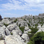 El Torcal, Antequera, Andaluzia, Espanha. Author and Copyright Liliana Ramerini