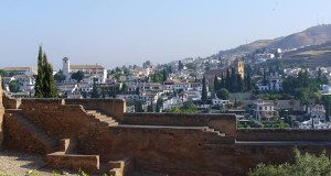 Granada, Andaluzia, Espanha. Author and Copyright Liliana Ramerini .