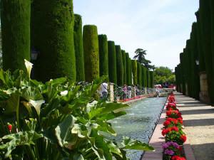 Jardines del Alcázar, Cordoba, Andaluzia, Espanha. Author and Copyright Liliana Ramerini.