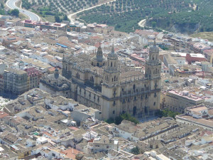 A catedral de Jaén, Andaluzia, Espanha. Author and Copyright Liliana Ramerini