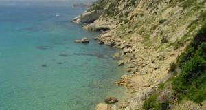 A costa perto de Koroni, Cefalônia, Ilhas Jónicas, Grécia. Author and Copyright Niccolò di Lalla