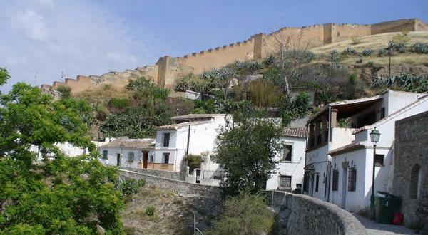 As paredes do Granada, Andaluzia, Espanha. Author and Copyright Liliana Ramerini
