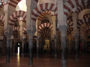 Mesquita, Córdova, Andaluzia, Espanha. Author and Copyright Liliana Ramerini.