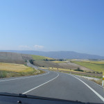 Paisagem andaluza perto de Guadix, Andaluzia, Espanha. Author and Copyright Liliana Ramerini