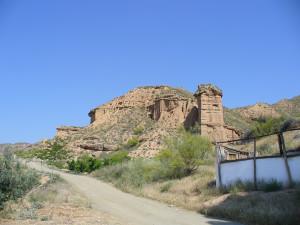Paisagem perto de Guadix, Andaluzia, Espanha. Author and Copyright Liliana Ramerini