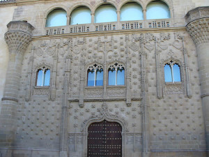 Palacio de Jabalquinto, Baeza, Andaluzia, Espanha. Author and Copyright Liliana Ramerini