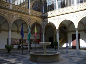Palacio de Vázquez de Molina ou de las Cadenas, Ubeda, Andaluzia, Espanha. Author and Copyright Liliana Ramerini
