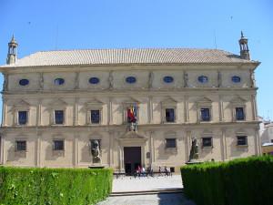 Palacio de Vázquez de Molina o de las Cadenas, Ubeda, Andaluzia, Espanha. Author and Copyright Liliana Ramerini.