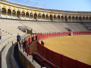 Plaza de Toros, Sevilha, Andaluzia, Espanha. Author and Copyright Liliana Ramerini