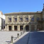 Plaza del Pópulo, Baeza, Andaluzia, Espanha. Author and Copyright Liliana Ramerini