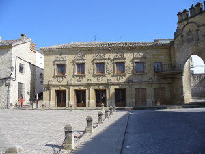 Plaza del Pópulo, Baeza, Andaluzia, Espanha. Author and Copyright Liliana Ramerini