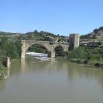 Ponte de Alcántara, Toledo, Castela-Mancha, Espanha. Author and Copyright Marco Ramerini.