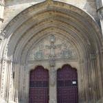 Puerta del obispo, Iglesia de San Pablo, Ubeda, Andaluzia, Espanha. Author and Copyright Liliana Ramerini