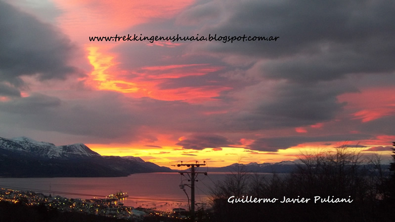 Ushuaia, Terra do Fogo, Argentina. Autor e Copyright Guillermo Puliani