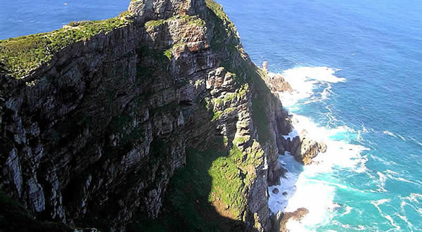 Cape Point, Cape of Good Hope Nature Reserve, Table Mountain National Park, África do Sul. Author and Copyright Marco Ramerini.