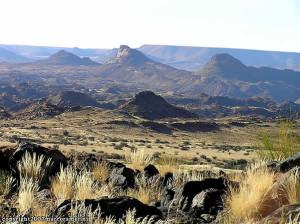 Paisagem, Augrabies Falls National Park, África do Sul. Author and Copyright Marco Ramerini