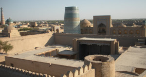 Khiva, Uzbequistão. Autor e Copyright Nello and Nadia Lubrina