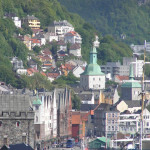 Bergen, Noruega. Autor e Copyright Marco Ramerini.