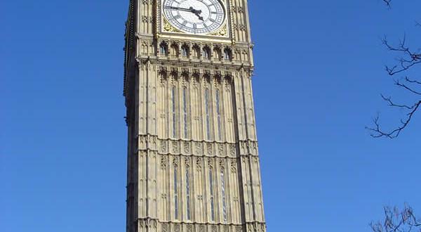 Big Ben, Londres, Reino Unido. Autor e Copyright Niccolò di Lalla
