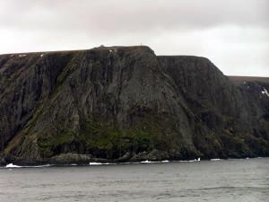 Cabo Norte, Ilha Mageroya, Noruega. Autor e Copyright Marco Ramerini