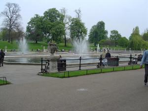 Jardins italianos, Kensington Gardens, Londres, Reino Unido. Autor e Copyright Niccolò di Lalla
