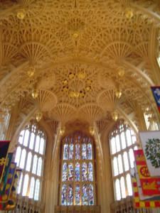 O teto da Lady Chapel, Westminster Abbey, Londres, Reino Unido. Autor e Copyright Niccolò di Lalla