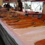Mercado de Peixe (Fisketorget) de Bergen, Noruega. Autor e Copyright Marco Ramerini,