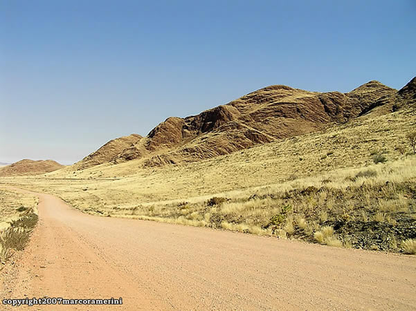 Namib Rand, Namíbia. Autor and Copyright Marco Ramerini.