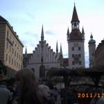 Altes Rathaus, Marienplatz, Munique, Baviera, Alemanha. Autor e Copyright Liliana Ramerini