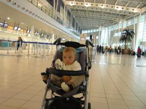 Andrea no aeroporto de São Martinho. Autor e copyright Marco Ramerini