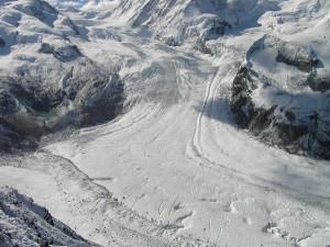 Geleira, Gornergrat, Zermatt, Svizzera. Author and Copyright Marco Ramerini