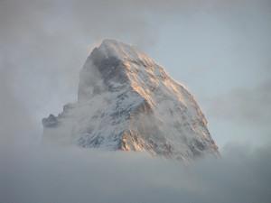 A cimeira de Cervino - Matterhorn visto de Zermatt, Suíça. Autor e Copyright Marco Ramerini