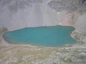 Lago da geleira Diavolezza, Grisões, Suíça. Autor e Copyright Marco Ramerini