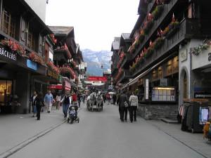 Zermatt, Suiça. Autor e Copyright Marco Ramerini..