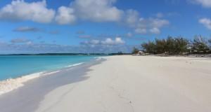Cape Santa Maria Beach, Long Island, Bahamas. Autor e copyright Marco Ramerini
