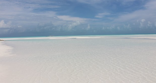 Sandy Cay, Exumas, Bahamas. Autor e Copyright Marco Ramerini