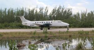 Voo Southern Air, Bahamas. Autor e Copyright Marco Ramerini
