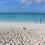 O mar, Cape Santa Maria Beach Resort, Long Island, Bahamas. Autor e Copyright Marco Ramerini