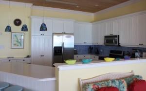 O interior de uma vila, Cape Santa Maria Beach Resort, Long Island, Bahamas. Autor e Copyright Marco Ramerini