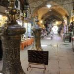Bazaar, Praça de Naqsh-e Jahan, Isfahan, Irã. Autor e Copyright Marco Ramerini,