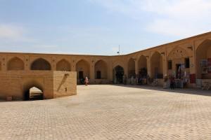 Caravançarai, Meybod, Irã. Autor e Copyright Marco Ramerini