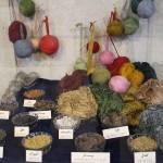 Cores e tecidos, Museu do Tapete do Irã, Teerã, Irã. Autor e Copyright Marco Ramerini
