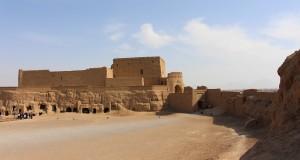 Fortaleza Narin Qal'eh, Meybod, Irã. Autor e Copyright Marco Ramerini..