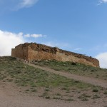 Fortaleza de Tall-e Takht, Pasárgada, Irã. Autor e Copyright Marco Ramerini