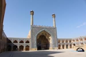 Grande Mesquita (Mesquita Jāmeh), Isfahan, Irã. Autor e Copyright Marco Ramerini