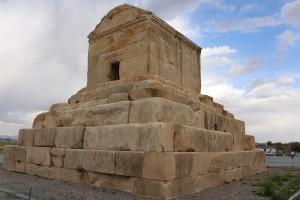 Tumba de Ciro, o Grande, Pasárgada, Irã. Autor e Copyright Marco Ramerini