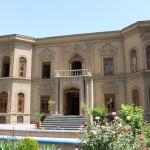 A fachada do Museu do Cristal e da Cerâmica, Teerã, Irã. Autor e Copyright Marco Ramerini.