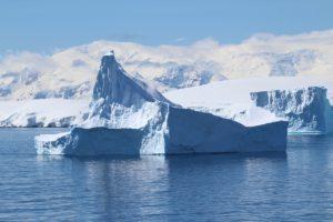 Iceberg, Antártida. Autor e Copyright Marco Ramerini.