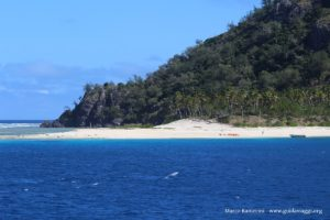 Monuriki Island, Mamanuca, Fiji. Autor e Copyright Marco Ramerini.,,