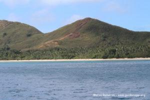 Naviti Island, Yasawa, Fiji. Autor e Copyright Marco Ramerini.